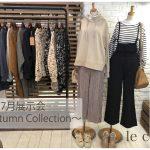 保護中: 2020.7月展示会〜Autumn〜カットソー動画